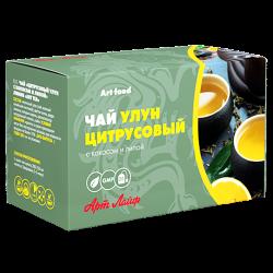 Чай «Цитрусовый улун с кокосом и липой»